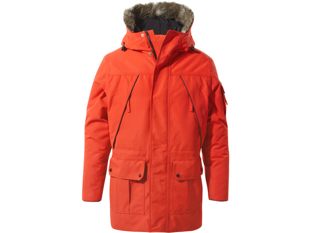 Craghoppers Bishorn Chaqueta Hombre, aster red